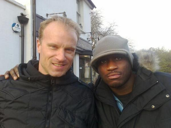 LETHAL BIZZLE & DENNIS BERGKAMP together at last